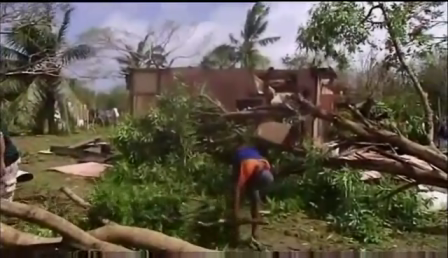 Fiji  Cyclone Evan Leaves Trail Of Destruction