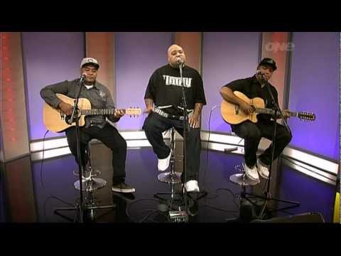 """Fiji's Live Performance with Soul Brothers Adeaze on the """"One"""" morning show in New Zealand."""