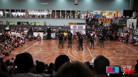 Empire - AUSTRALIAN HIP HOP DANCE CHAMPIONSHIP HHI 2013 - BRISBANE QUALIFIER