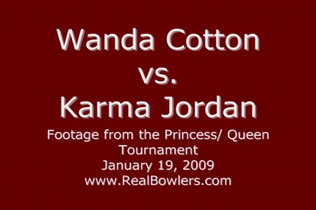 Wanda Cotton vs. Karma Jordan