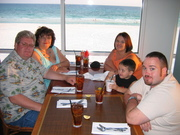 our family on vacation in Destin, FL