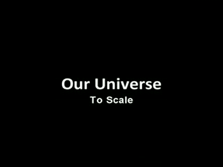 Our Universe - To Scale
