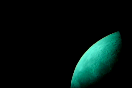 Motion of Moon Keeping the eyepiece fixed