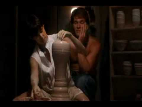 "Original Pottery Scene from ""Ghost"" Patrick Swayze"