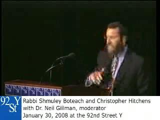 Full version of another Christopher Hitchens debate on god