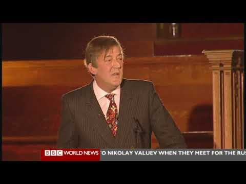 The Intelligence Squared Debate - Christopher Hitchens and Stephen Fry vs. The Catholics (Part 3/5)