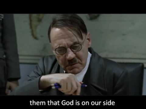 Hitler reacts to the Global Atheist Convention