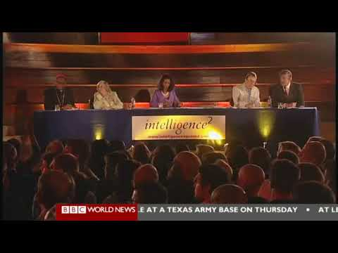 The Intelligence Squared Debate, Christopher Hitchens and Stephen Fry vs The Catholics (4 of 5)