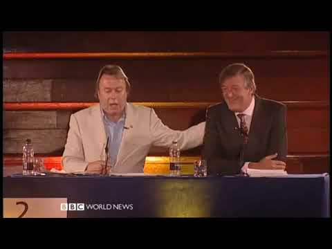 The Intelligence Squared Debate, Christopher Hitchens and Stephen Fry vs The Catholics (5 of 5)