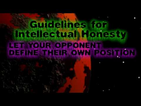 Dishonesty of a Theist