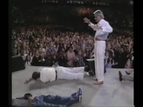 Benny Hinn No-Touch Knockout