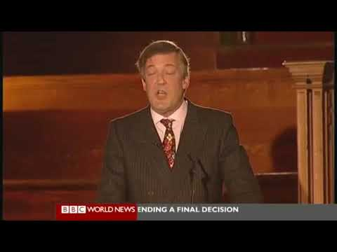 The Intelligence Squared Debate, Christopher Hitchens and Stephen Fry vs The Catholics (3 of 5)