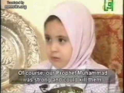 3 YEAR OLD MUSLIM GIRL YEARNS TO KILL INFIDELS
