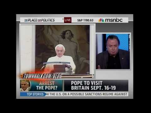 The pope should be arrested!