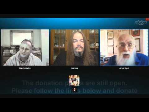 James Randi on the MSF/Doctors without Borders charity show