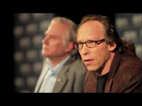 SOMETHING FROM NOTHING ? Richard Dawkins & Lawrence Krauss [HD] 02-04-12