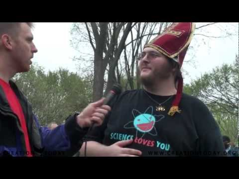 Eric Hovind meets the Pope of Atheism