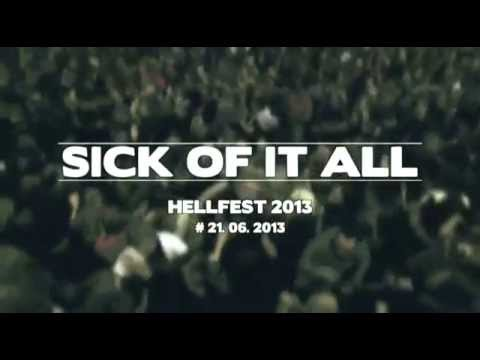 SICK OF IT ALL @ Hellfest 2013