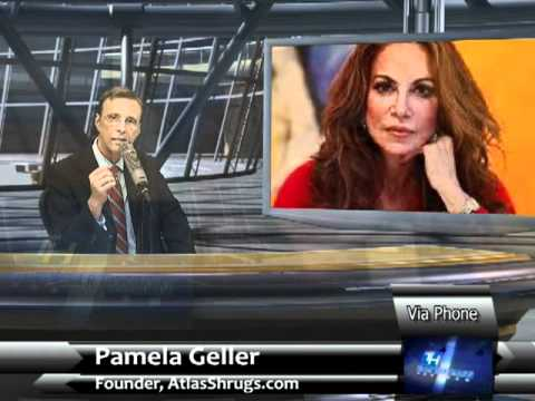 "Thom Hartmann vs Pamela Geller - Legacy of 911 and the ""business of hate"""