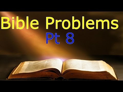 Problems With the Bible pt 8 - Jonah and the Whale