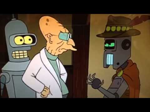 I choose the believe what I was programmed to believe (Futurama S2E18)