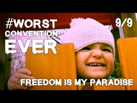 Worst Convention Ever 9/9 - Freedom Is My Paradise (ex-Jehovah's Witnesses celebrate their freedom!)