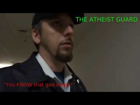 Atheists really know God exists.