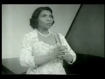 """Marian Anderson - """"He' s Got the Whole World in his hand"""""""