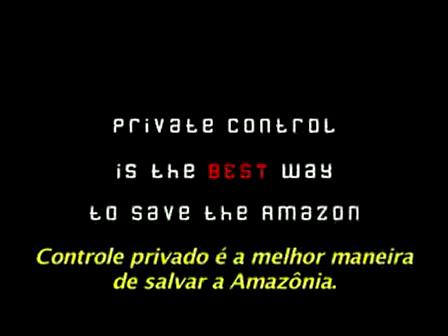 Amazônia Privatizada?