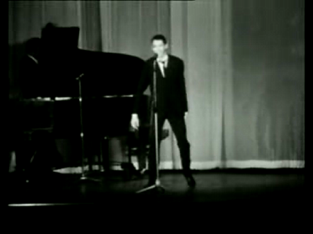 """JacquesBrel canta """"Au Suivant"""" (legenda em Espanhol)"""