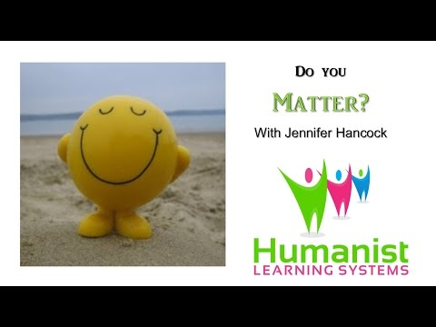 Mattering - a humanist perspective