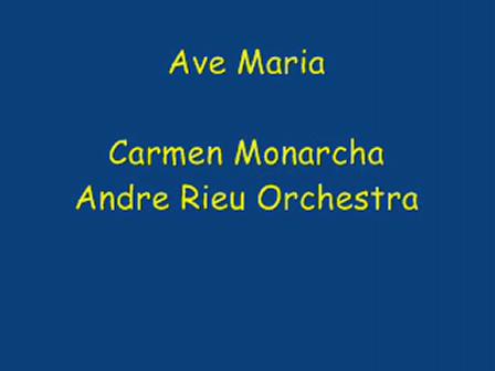 AVE MARIA - Intérprete Carmen Monarcha