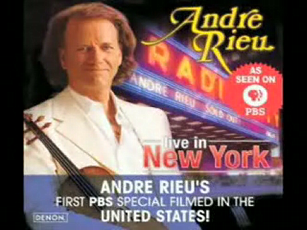 Andre Rieu interpreta My Way