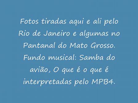 Vídeo sobre o Rio de janeiro
