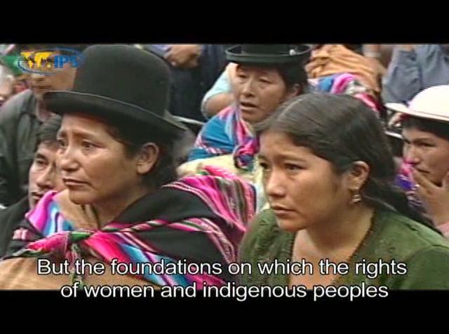 Bolívia, uma revolução com face feminina