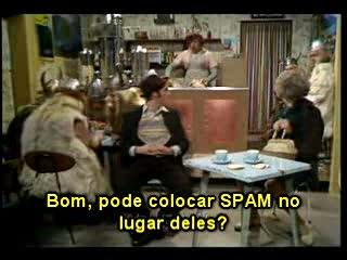 Monty Python: SPAM (legendas em portugues)