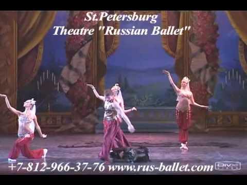 Dança Árabe - O ballet acrobático Russo.