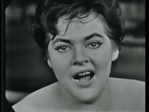 """Maysa canta, ao vivo em 1959, """"Bom Dia, Tristeza"""", de Adoniran Barbosa e Vinícius de Moraes."""