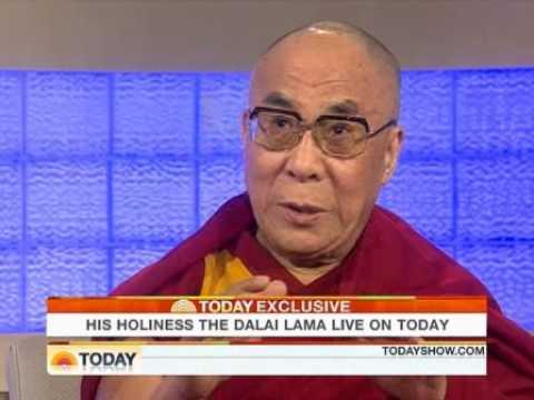 Ann Curry entrevista Sua Santidade Dalai Lama no The Today Show - NBC - EUA