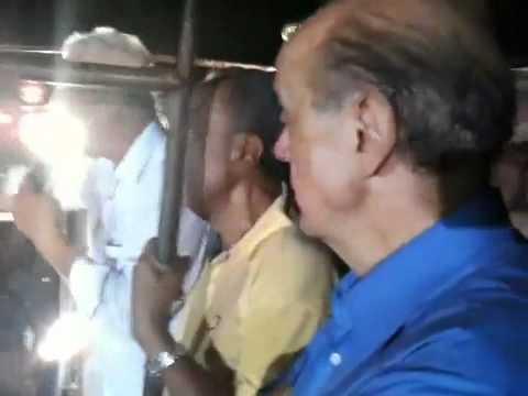 Denúncia em comício de Serra: candidato do PSDB vota em Dilma
