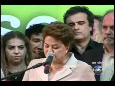 Pronunciamento de Dilma - 1ª parte