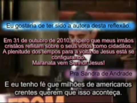 Estado Laico, as religiões e os religiosos - Discurso de Obama em uma igreja americana.
