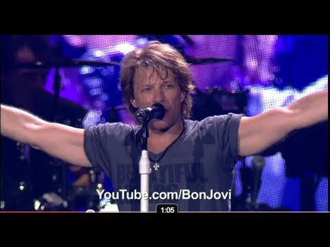 Watch Bon Jovi LIVE from Times Square on YouTube TONIGHT!