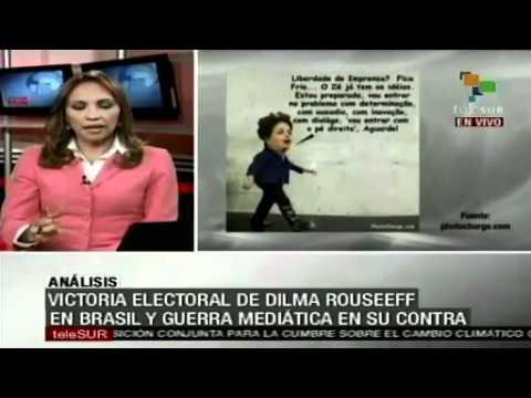 O Lado de Cá visto do Lado de Lá: campaña mediática derechista contra Dilma Rousseff