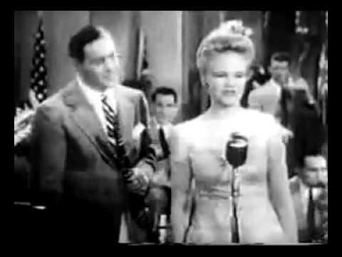 Peggy Lee with Benny Goodman - Why Don't You Do Right (1943 - Stage Door Canteen)