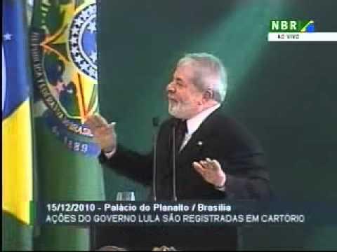 """Exmo. Pres. Lula: """"Não vai ter vazamento do Wikileaks, porque vamos vazar antes..."""""""