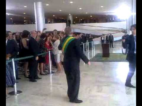 Presidente Dilma sobe a rampa by Blog  do Planalto