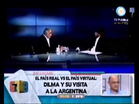 678 - El país real vs el país virtual: Dilma y su visita a Argentina 30-01-11