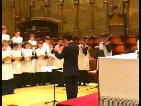 Himne - P. Irineu Segarra (Escolania de Montserrat)