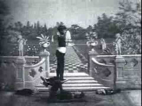 Acrobacias japonesas em 1904.
